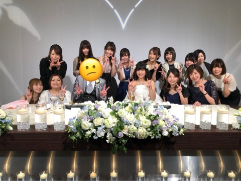ヒラヤマンの結婚式集合写真