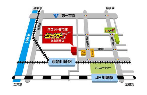 タイガー7京急川崎店_グランドオープンフロアレイアウト