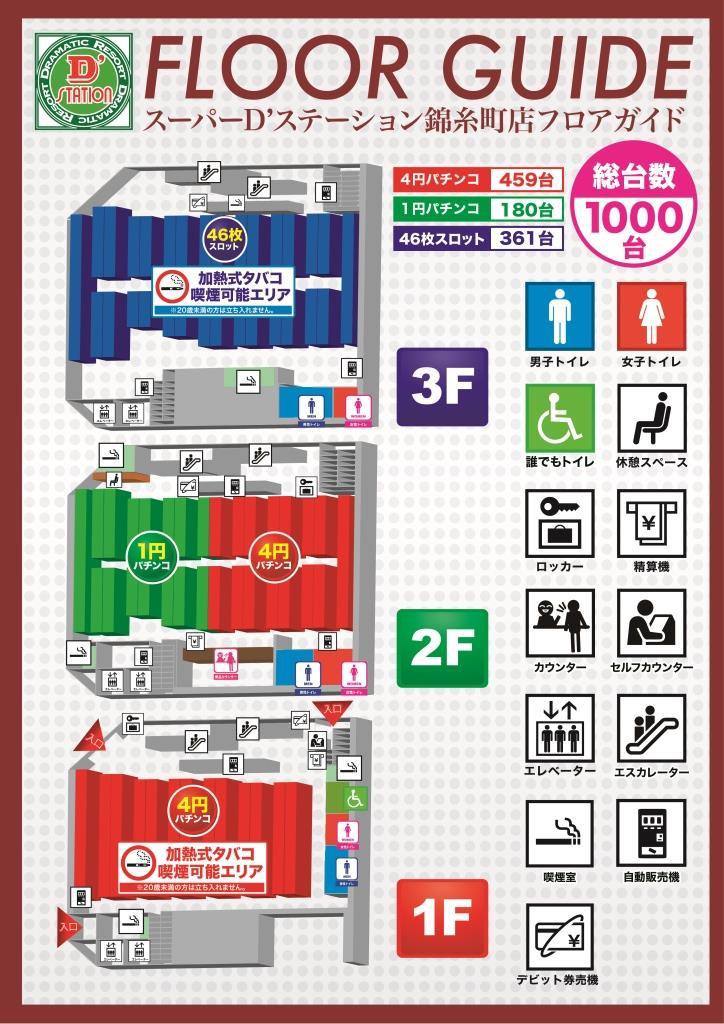 スーパーディーステーション錦糸町店_グランドオープンフロアマップ